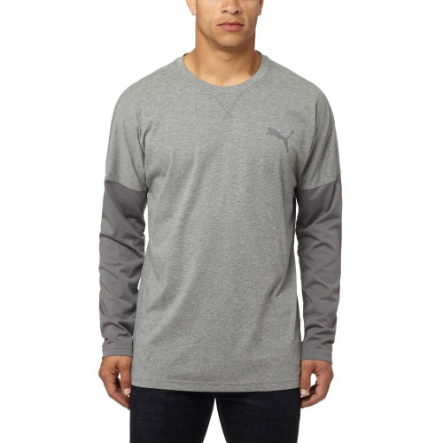 Tailgate Long Sleeve T-Shirt Grey