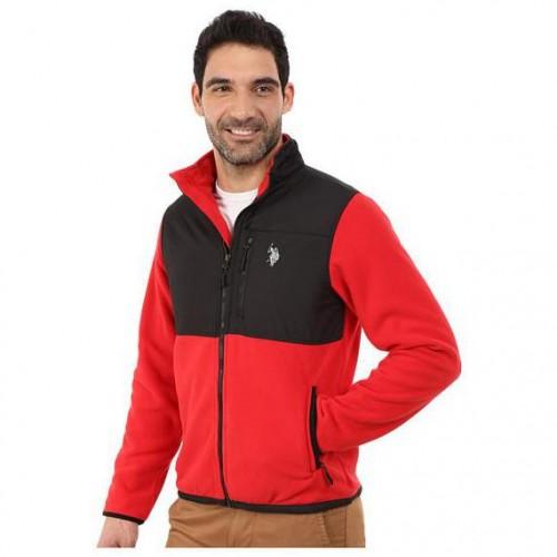 Polar Fleece Mock Neck Jacket
